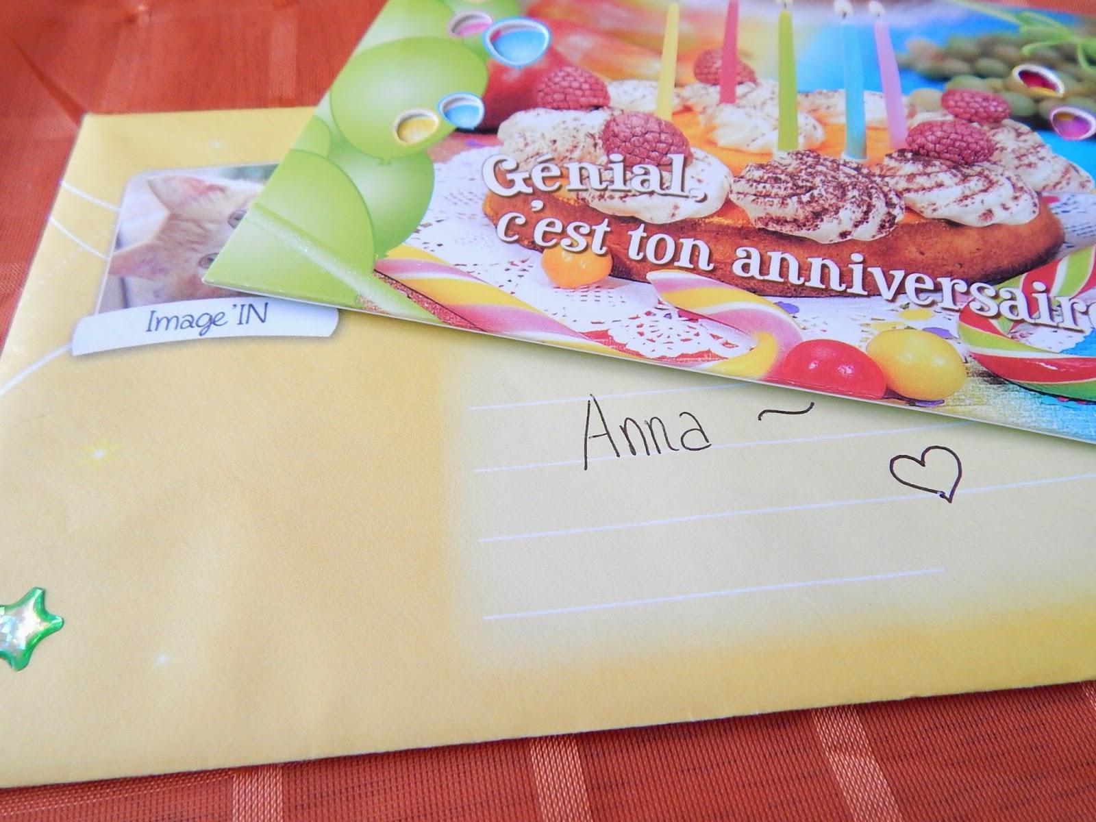 ~28 Urodzinowy list z Francji.