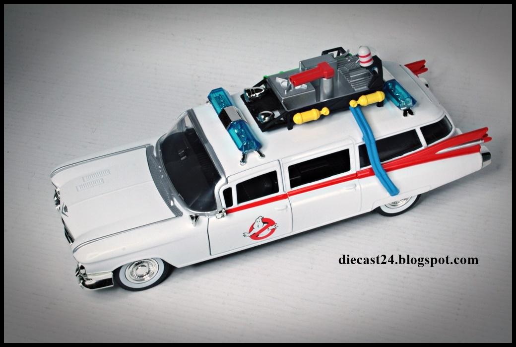 Diecast 1959 124 MiniaturasCadillac Ghostbusters Ecto 1 OiukXZTP