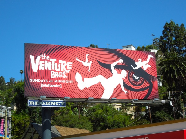 Venture Bros 5 adult swim billboard