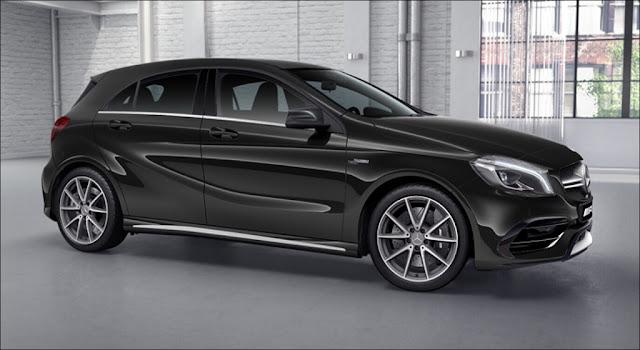 Ngoại thất Mercedes AMG A45 4MATIC 2019 thiết kế thể thao hầm hố
