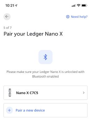 Aplikasi Ledger Nano X