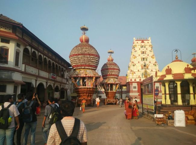Udupi Sri Krishna Temple Chariots