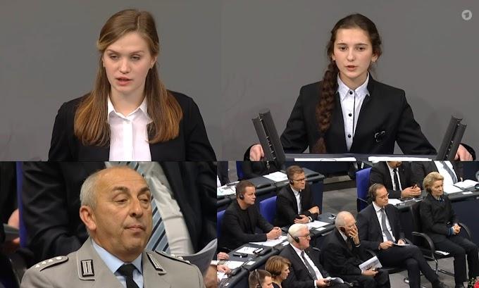 О чем рассказали девочки в Бундестаге?