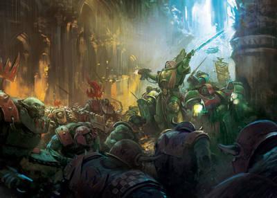Titan Comics takes on Warhammer 40,000
