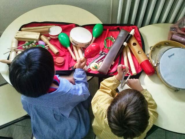 Proyecto de Educación musical infantil