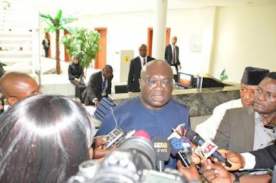 Abia State Governor Okezie Ikpeazu