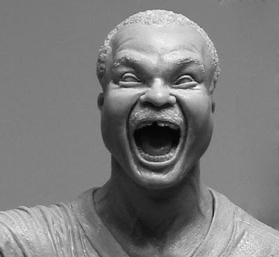 Escultura  hiperrealistas de king kong