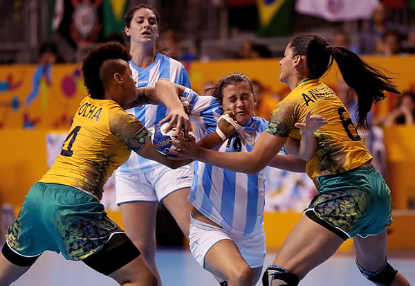 Argentina-Brasil Handball Femenino