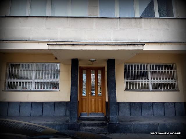 Warszawa Warsaw ulica Powiśle kamienica architektura zabudowa kamienica