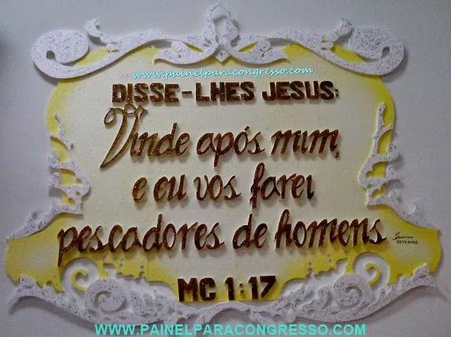 Tema bíblico para festividade ou congresso  /   Marcos 1:17
