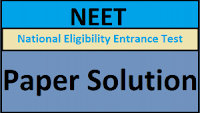 NEET 2018 Paper Solution
