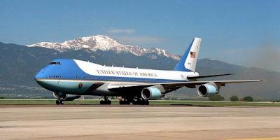 Pesawat AIR FORCE ONE....!!!
