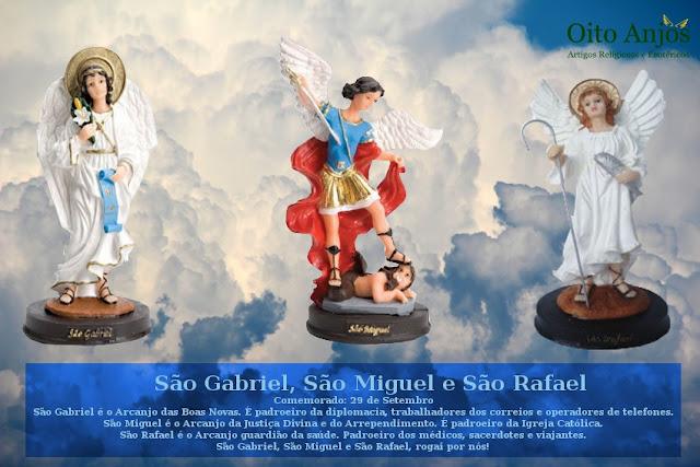 Dia 29 de Setembro: Dia dos Três Arcanjos de Deus