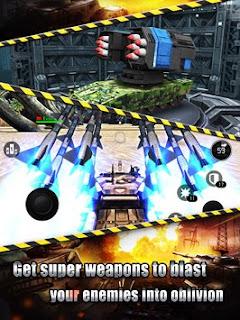 pada kesempatan kali ini admin akan memposting  Download Tank Strike - battle online v1.5 APK Mod Full Unlimited Terbaru