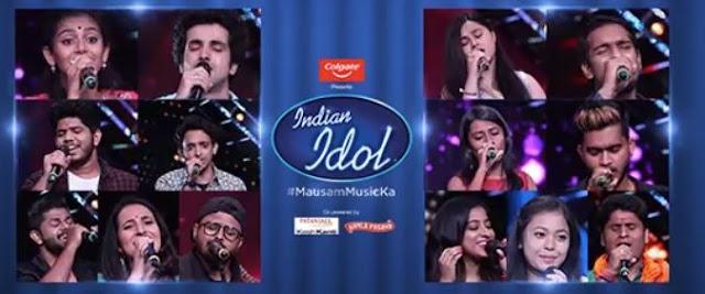 indian idol top 14