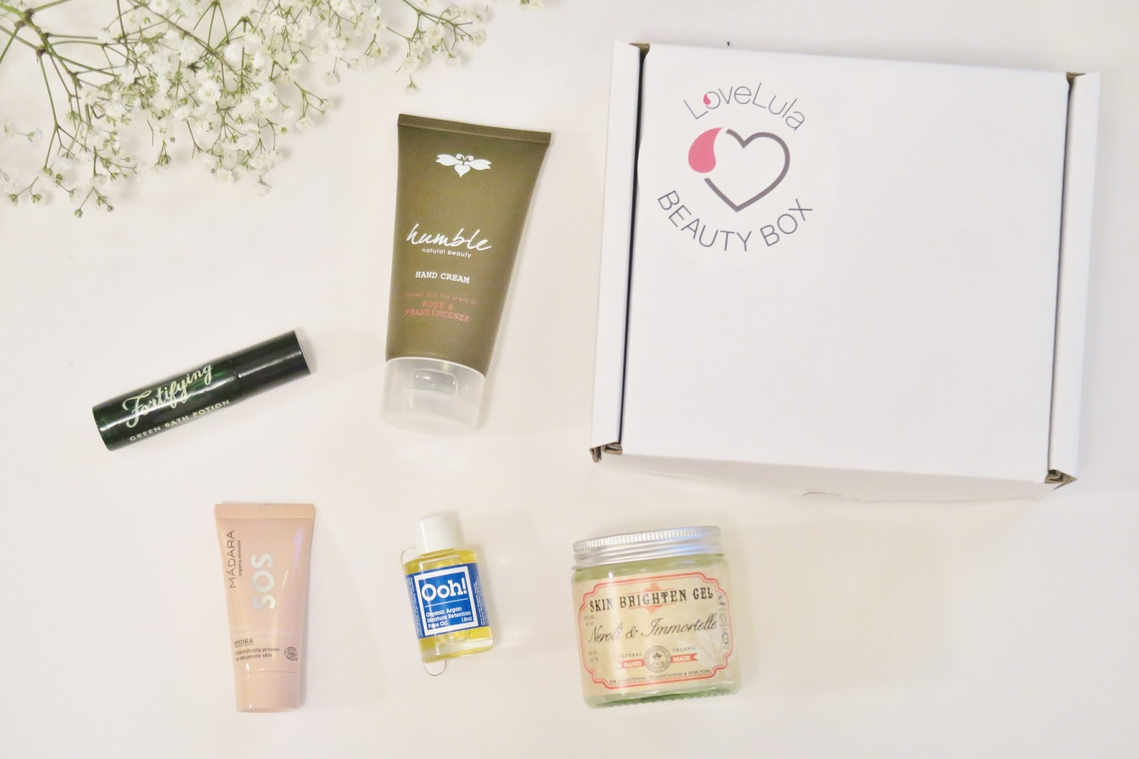 Natural & Organic Beauty Box | Love Lula
