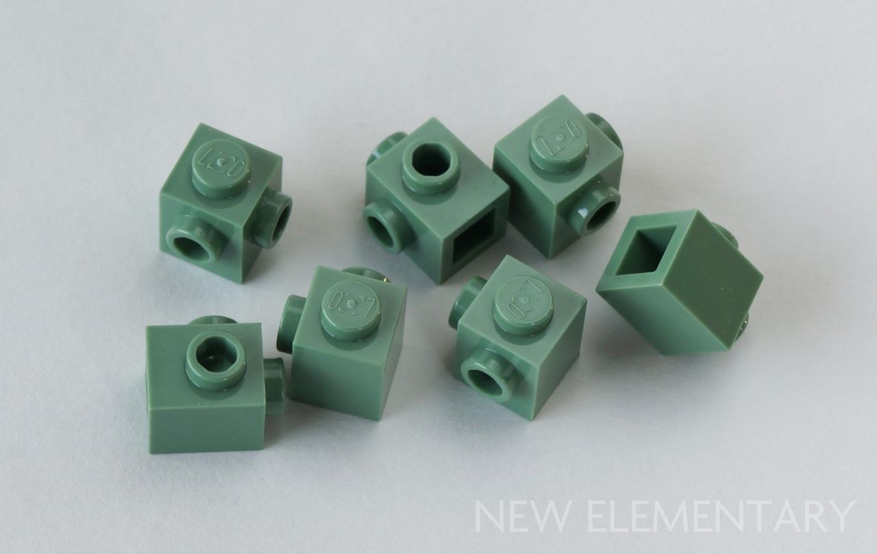 LEGO® Sand Blue Bar Holder with Clip Design ID 11090