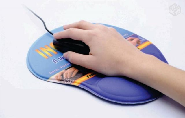 Mouse Pad Ergonômico PERSONALIZADO