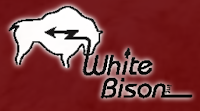 Picture of logo for white bison a non-profit organization