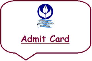 CBPBU Admit Card 2019
