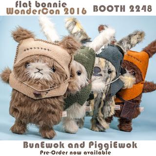 Flat-Bonnie-WonderCon-Exclusive-group-PiggiEwok-starwars-ewok