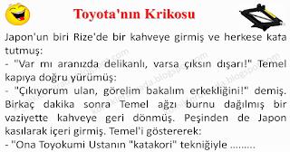 Toyota'nın Krikosu - Temel Fıkraları - Komikler Burada