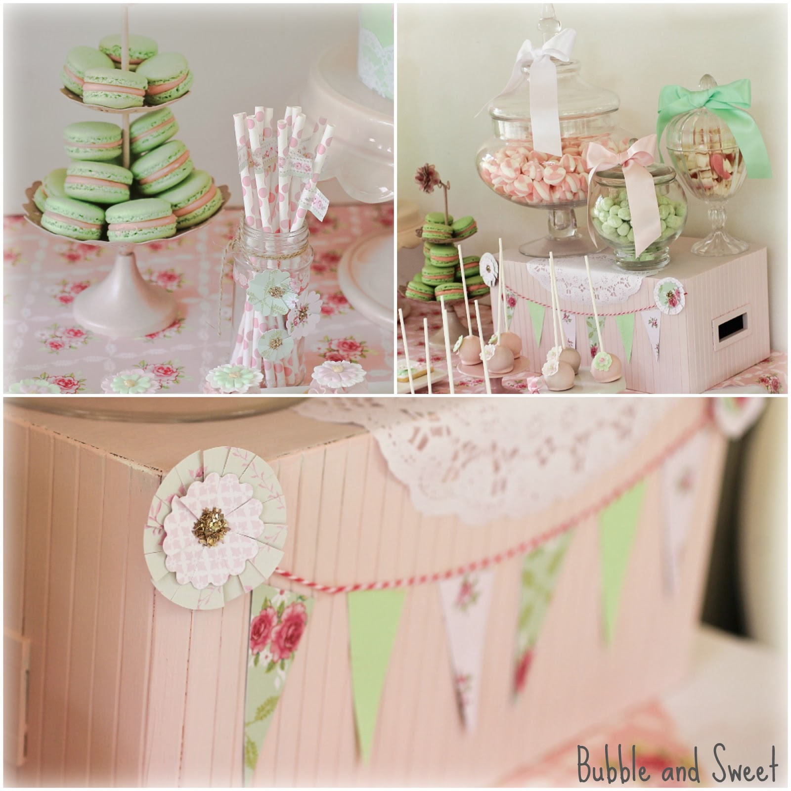 Bubble And Sweet Pretty Pastel Party