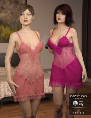 Lace Nights for Genesis 3 Female(s)