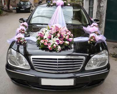 cho thuê xe cưới Mercedes S 2004 giá rẻ tại hà nội