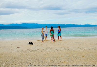Snorkeling tours in Tambrauw coast of West Papua, Indonesia with Charles Roring