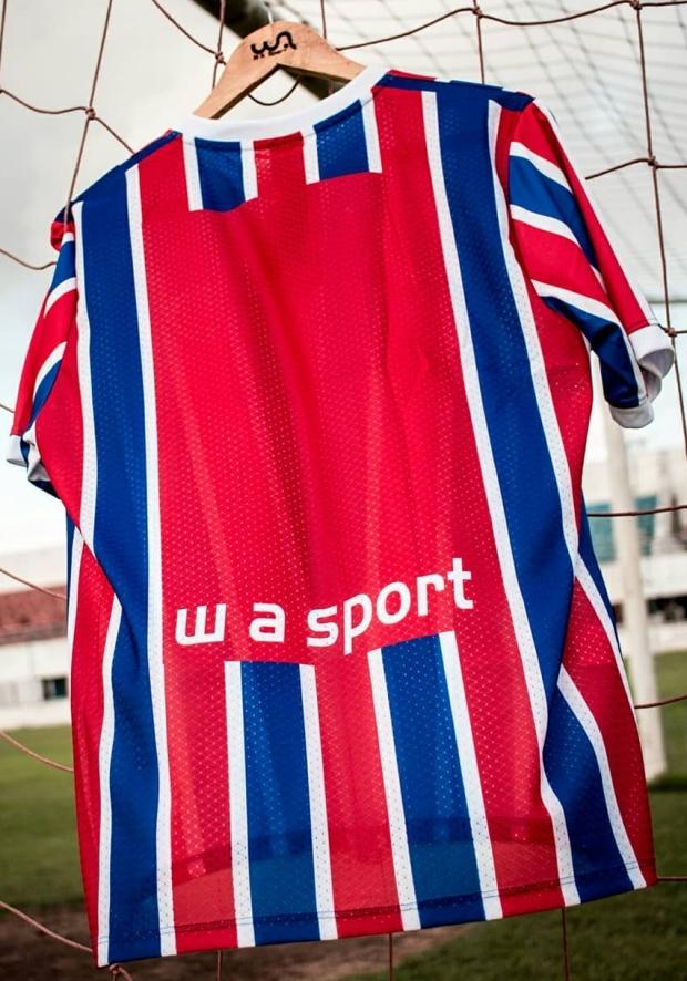 71afab76b WA Sport apresenta as novas camisas do Itabaiana. A fabricante de material  esportivo ...