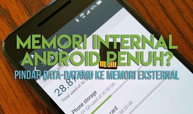 Memindah Aplikasi Android ke Memori Eksternal Dengan Link2SD
