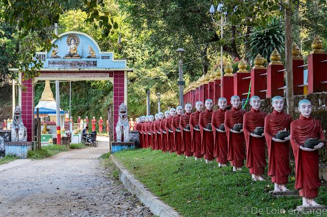 Grotte de Kwat Ka Taung - Région de Hpa An - Myanmar Birmanie