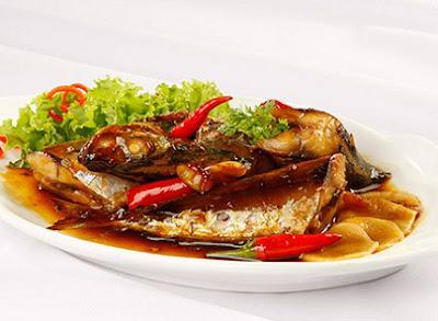 Cá nục kho kiểu Nhật