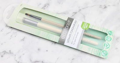 Eco Tools Ultimate Concealer Duo makeup brush brushes review