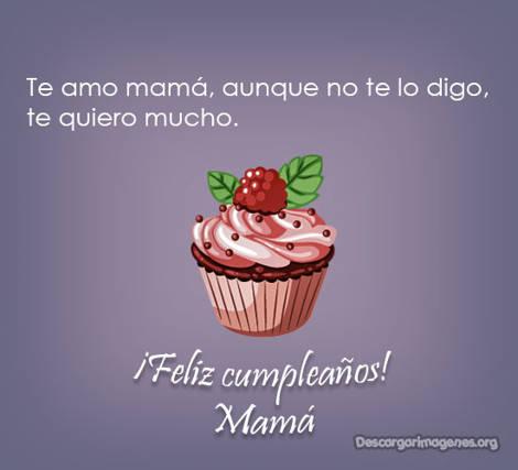 Cumpleaños dedicatorias mamá.