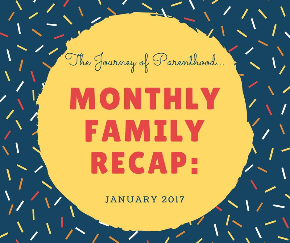 January 2017 Family Recap