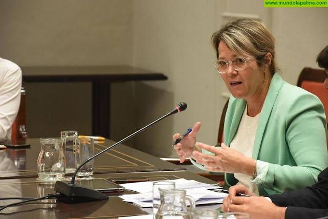 Vanoostende defiende unos presupuestos que aumentan en 11,7 millones para primar la generación de empleo, la formación del sector y la lucha contra el cambio climático