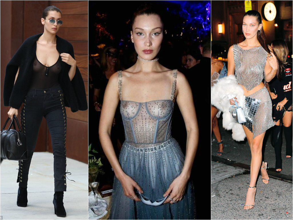 50 Times Celebs Went Braless - Stars who go braless 5