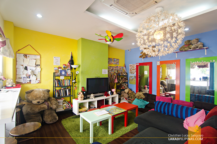 Beary Best Hostel Singapore Lounge