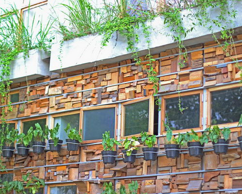 Tinuku Art-eco design Greenhost Boutique Hotel without material waste since construction