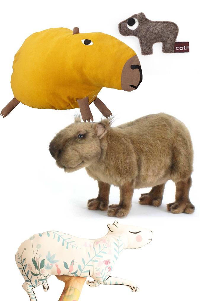 capibara knuffel