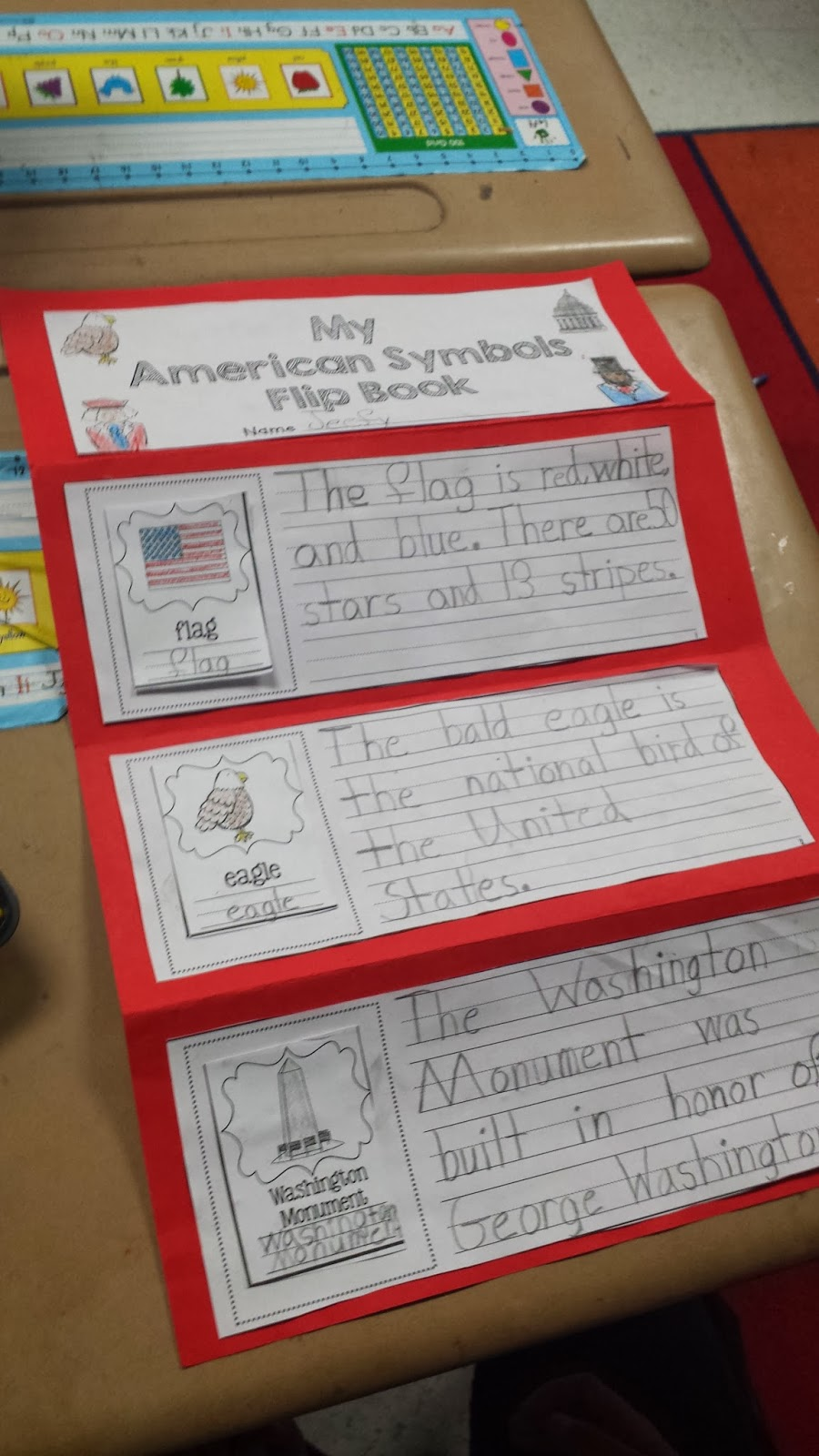 Teaching Ideas for American Symbols   Flying into First Grade [ 1600 x 900 Pixel ]