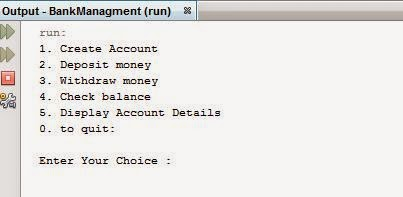 Java Simple Bank Account Class And Simple Functionality ~ City