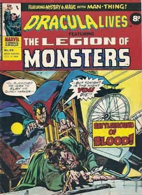 Marvel UK, Dracula Lives #69