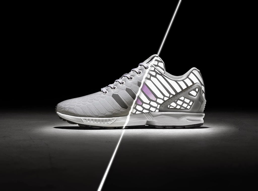competitive price c0cd2 9dab1 Adidas ZX Flux Xeno Silver | Analykix