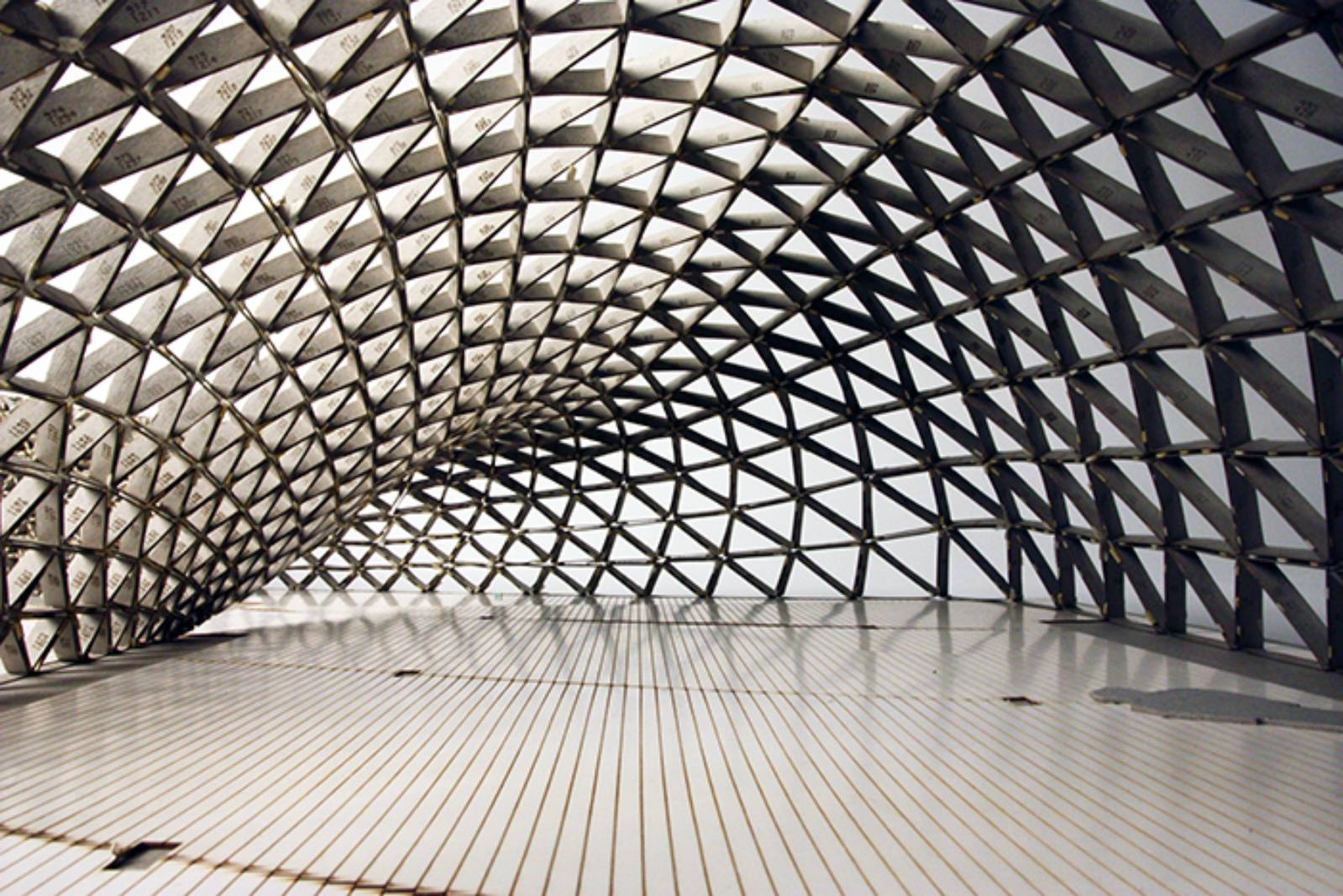 Sutd Library Gridshell Pavilion By City Form Lab A As