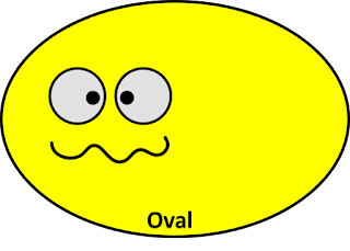 Oval Shapes free clipart