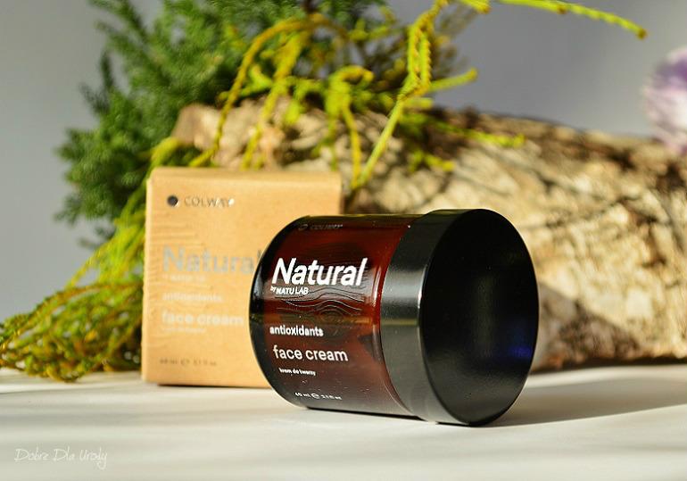 Colway Natural Kolagenowy Krem naturalny do twarzy i Kapsułki ANTI-AGE