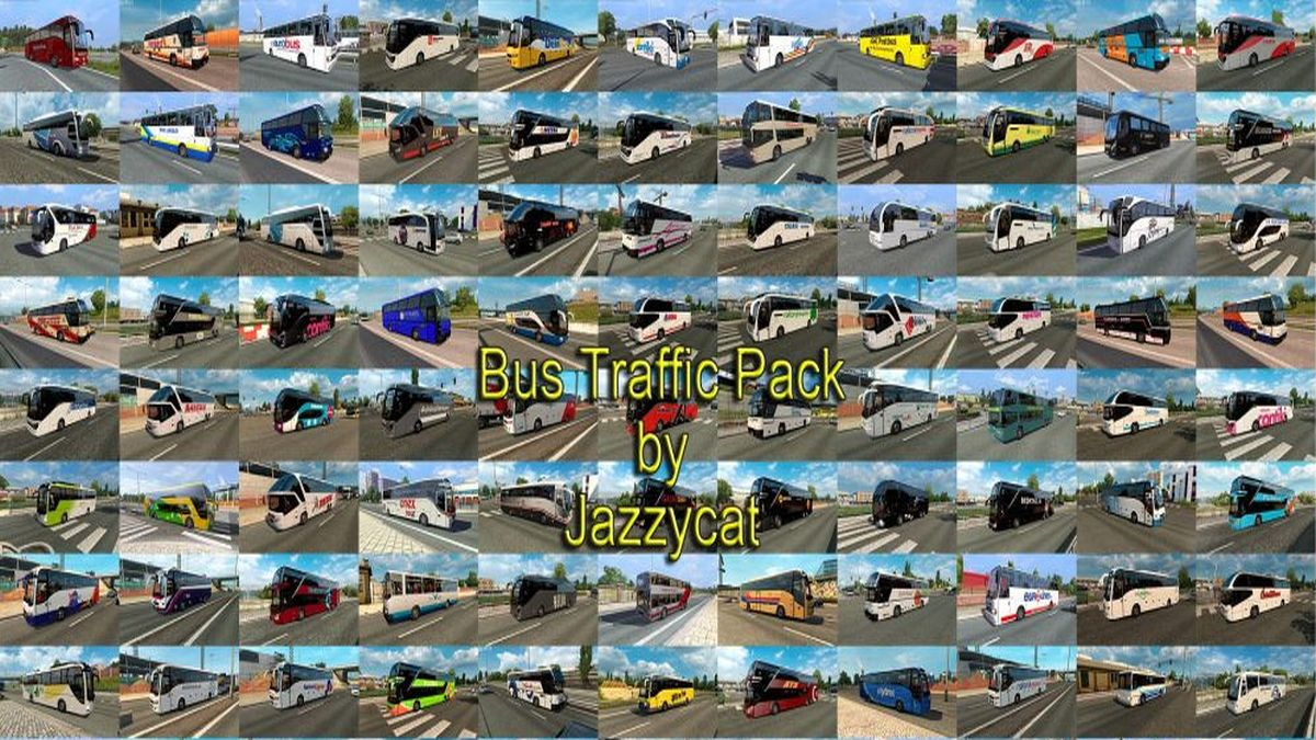 Jazzycat – Bus Traffic Pack 3.6